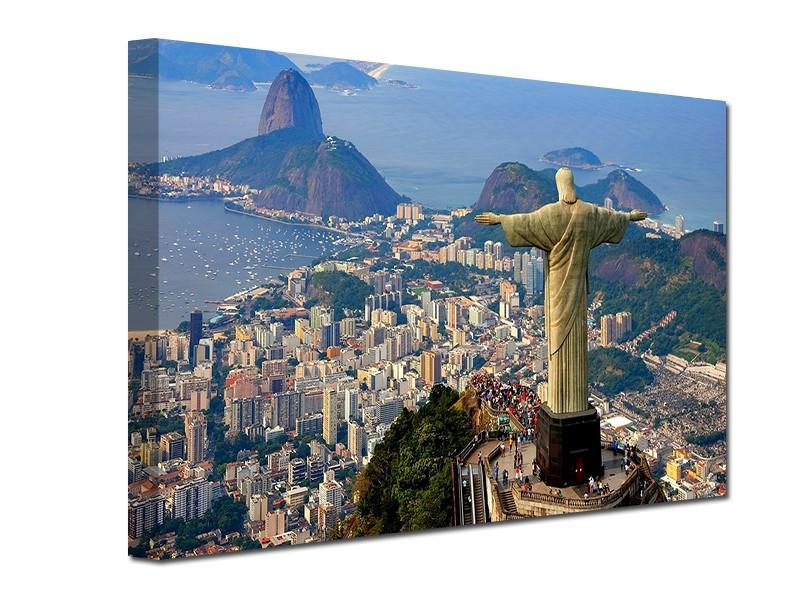 Gradovi i spomenici slike na platnu