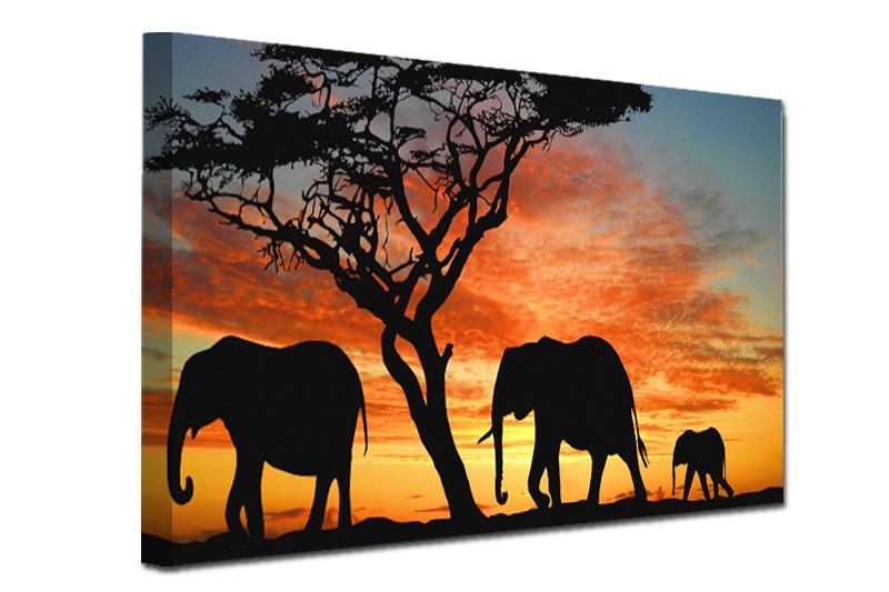 afrika slike na platnu
