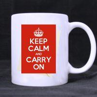 Keep calm foto šolje