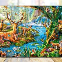 Životinje puzle