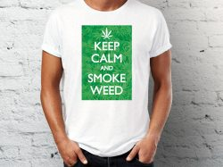 majice sa natpisom keep calm and smoke weed