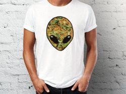 Štampa na majicama Junkie majica sa printom vanzemaljca