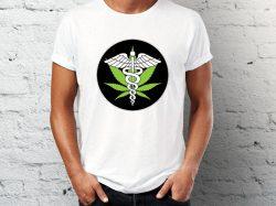 Štampa na majicama Junkie majica sa printom znaka apoteke