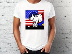 Štampa na majicama Junkie majica sa printom supermena